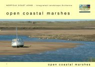 open coastal marshes - Norfolk Coast Area of Outstanding Natural ...