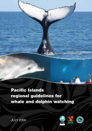 Pacific Islands regional guidelines for whale and ... - MarineNZ.org.nz