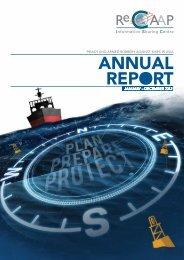 Annual report 2012 - ReCAAP