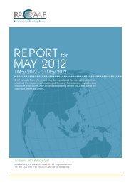 REPORT MAY 2012 - ReCAAP