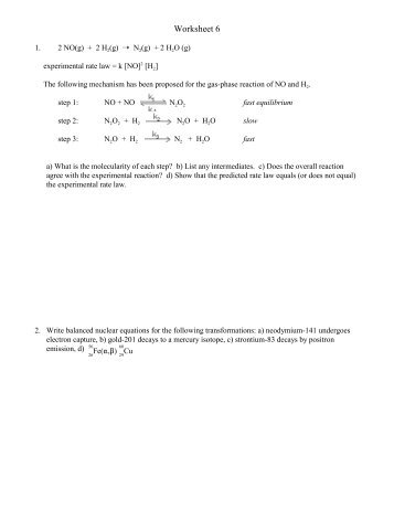 6-23,24 - Worksheet -Energy
