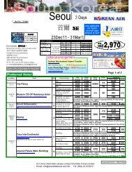 Page 1 of 3 - Charlotte Travel Limited