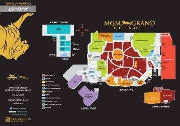 AUGUST - MGM Grand Detroit