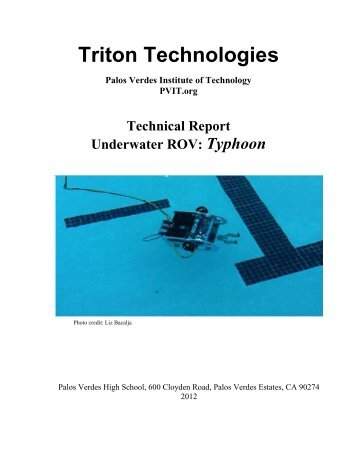 Title Page - the Marine Advanced Technology Education (MATE)
