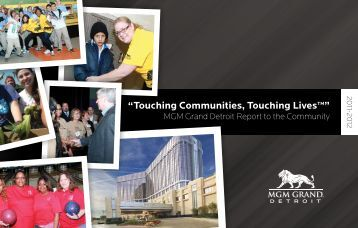 2011-2012 Annual Report - MGM Grand Detroit