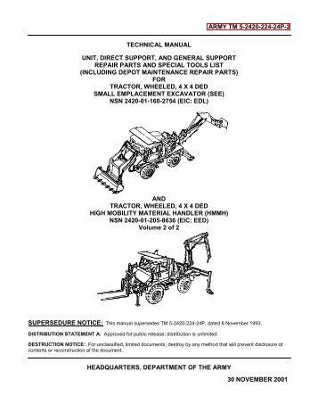 Technical Manuals (TM)