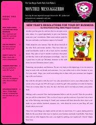 January - The San Diego North Park Craft Mafia!!