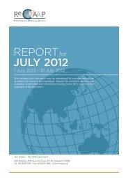 REPORT JULY 2012 - ReCAAP
