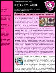 June - The San Diego North Park Craft Mafia!!