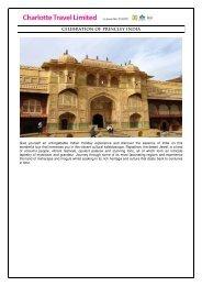CELEBRATION OF PRINCLEY INDIA - Charlotte Travel Limited