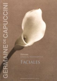Faciales - Germaine de Capuccini