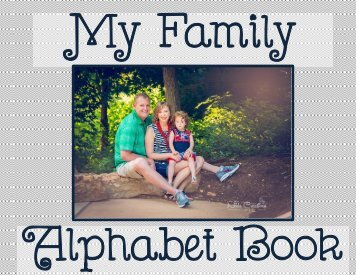 My Family Alphabet Book