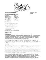 BOG February 2010 - Broken Sound Club