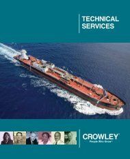 Technical Services - Crowley Maritime Corporation