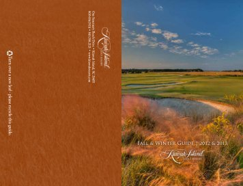 Activity Guide - Kiawah Island Golf Resort