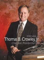 The Maritime Executive - Crowley Maritime Corporation