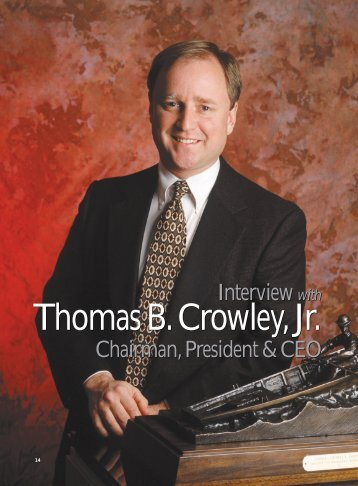 The Maritime Executive - Crowley Maritime Corporation