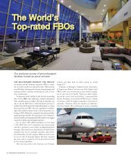 The World's Top-rated FBOs - Business Jet Traveler