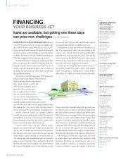 FINANCING - Business Jet Traveler