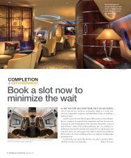 Completion and Refurbishment Centers - Business Jet Traveler