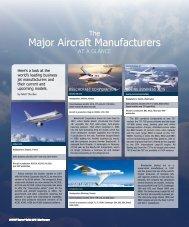 Major Aircraft Manufacturers - Business Jet Traveler