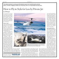 How to Fly in Style for Less by Private Jet - Business Jet Traveler