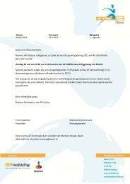 08-05-2011 ALV-2011 1. Agenda Geacht lid /Geachte leden ... - Unitas