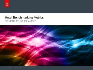 Hotel Benchmarking Metrics - hsmai