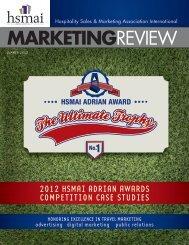 Adrian Awards Case Studies 2012 - hsmai