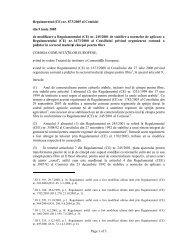 Page 1 of 3 Regulamentul (CE) nr. 873/2005 al Comisiei ... - APIA Gorj