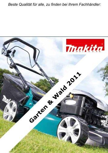 Makita Gartengeräte 2011 - Weber+Widmer AG
