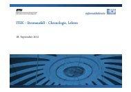 ITEK - Stromausfall - Chronologie, Lehren