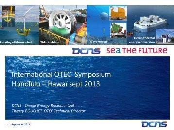 Bouchet_ DCNS OTEC Strategic Development