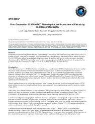 50 MW OTEC Plantship Design - Hawaii National Marine ...