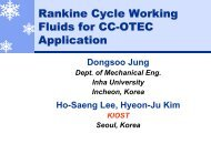 Jung D_ Rankine Cycle Working Fluids