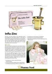 Get Bio-Influ-Zinc infosheet - Pharma Nord