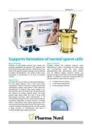 Get B-Daddy infosheet - Pharma Nord