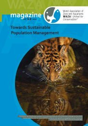 Towards Sustainable Population Management - Waza
