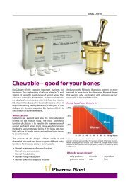 Get Bio-Calcium-D3+K1 infosheet - Pharma Nord