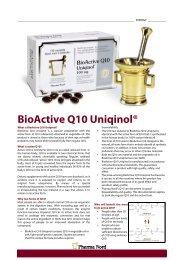 BioActive Q10 Uniqinol® - Pharma Nord