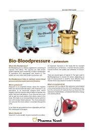 Get Bio-Bloodpressure infosheet - Pharma Nord