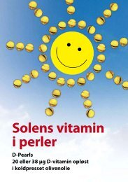 Solens vitamin i perler - Pharma Nord