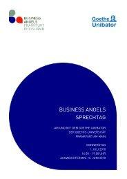 BUSINESS ANGELS SPRECHTAG - Medienkompetenznetz.de