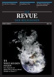 Revue der Religionen - September/Dezember 2011 - Ahmadiyya ...