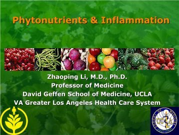 Phytonutriets & Inflammation - NIA West
