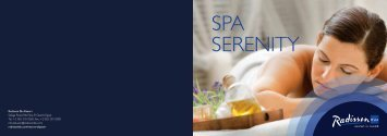 SPA SERENITY - Tez Tour