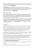 SVARBI INFORMACIJA Kelionės dokumentai Prieš ... - Tez Tour - Page 2