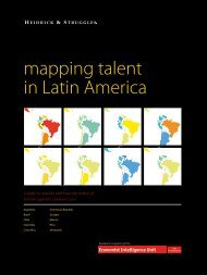 mapping talent in Latin America - Global Talent Index