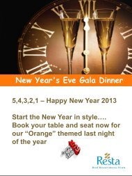 New year's Eve Gala Dinner New Year's Eve Gala Dinner - Tez Tour