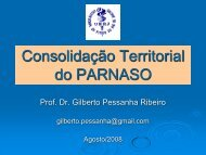 Consolidação Territorial do PARNASO - Georeferencial